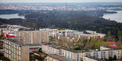 Town development in Schwerin