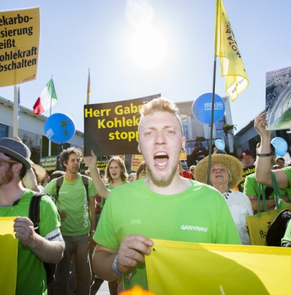 Greenpeace Anticoal coalition