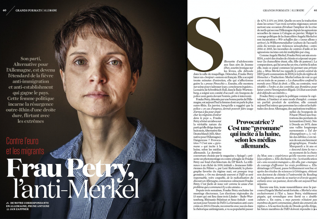 Frauke Petry - Le Observateur