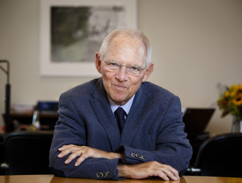 Financial Times – Portrait Wolfang Schäuble