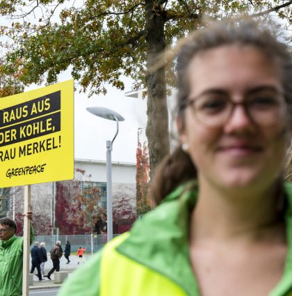 Greenpeace: Reportage Anti-Coal-Protest
